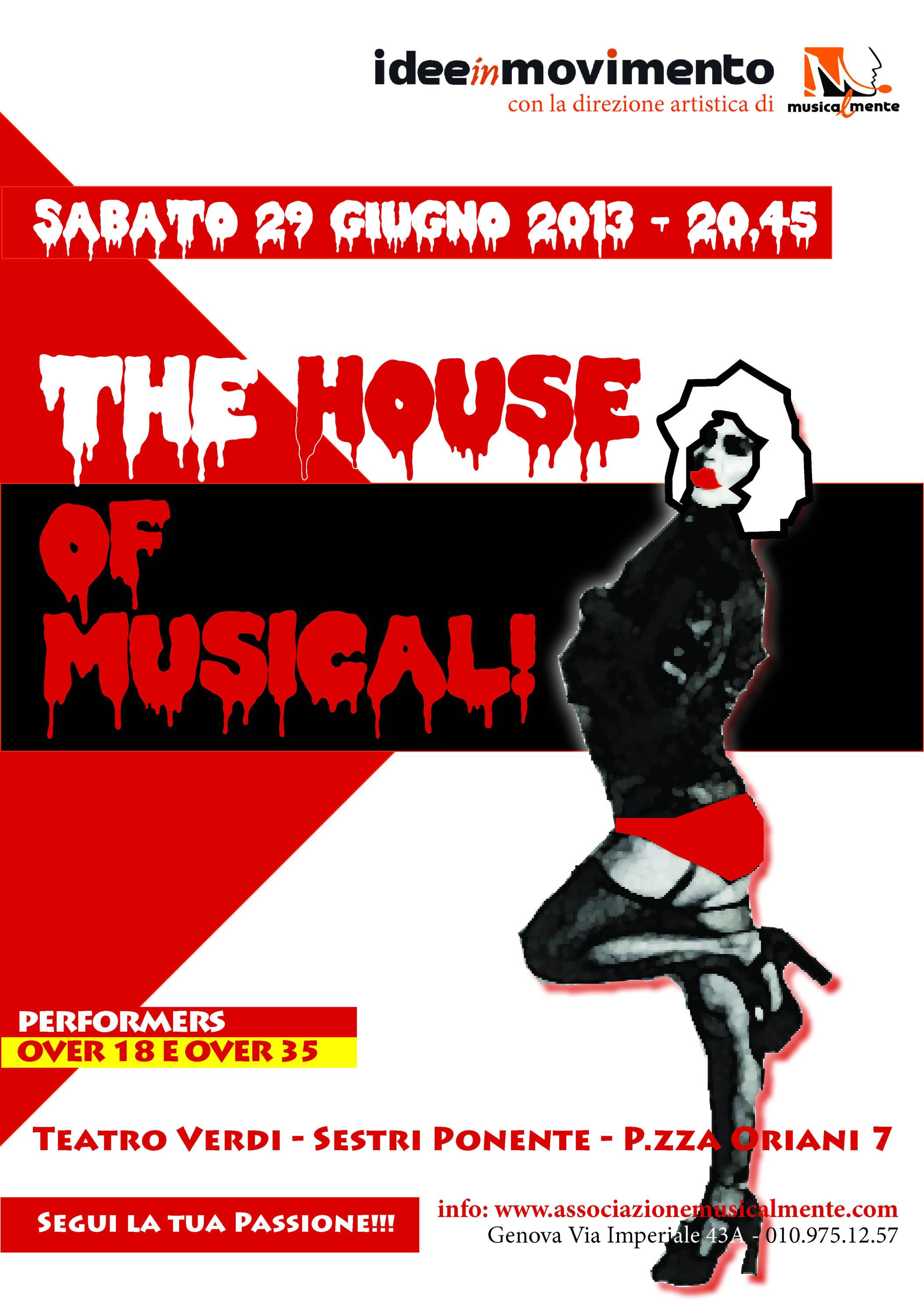 The House of Musical (Locandina Ufficiale)